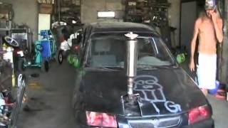 getlinkyoutube.com-#1347 Crazy exhaust mod on 1997 mazda [Davidsfarm]