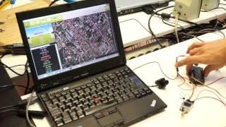 getlinkyoutube.com-3G telemetry on ArduPilot 2.5 (APM) via a Raspberry PI (RPI)