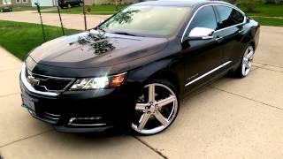 getlinkyoutube.com-2015 Impala on 22's