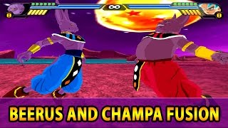 Beerus and Champa Fusion | Chambeer Universe 13 God of Destruction | DBZ Tenkaichi 3 (MOD)