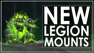 getlinkyoutube.com-The 28 New Mounts of World of Warcraft: Legion