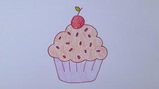 getlinkyoutube.com-Como desenhar um cupcake