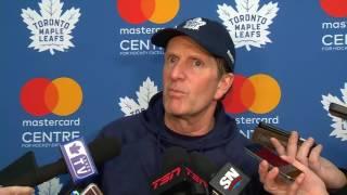 getlinkyoutube.com-Maple Leafs Practice: Mike Babcock - January 20, 2017