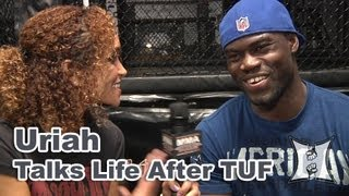 "getlinkyoutube.com-UFC's Uriah Hall on ""Throwing"" Gastelum Fight, Training with Rousey, Munoz + Ellenberger"