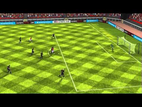 FIFA 14 iPhone/iPad - Manchester Utd vs. Crystal Palace
