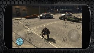getlinkyoutube.com-Grand Theft Auto IV On Android Gameplay