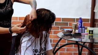 getlinkyoutube.com-Cómo remover el color negro del cabello / Tutorial /  Lady maquillajes