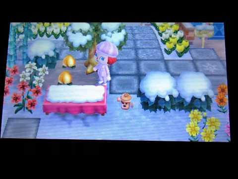 Animal Crossing New Leaf - Champiñones alucinogenos a traves de los sueños