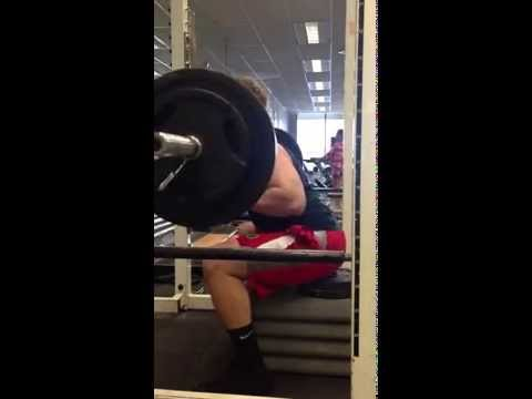 Cycle 10 week 2 day C SSB box squats 185x5