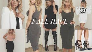 getlinkyoutube.com-Fall Haul 2015: Nasty Gal, Fashion Nova, Public Desire, Gentle Monster | HAUSOFCOLOR