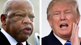 "getlinkyoutube.com-Why Trump Assumes John Lewis's District Is ""Crime-Infested"""