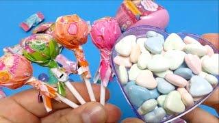 getlinkyoutube.com-Barbie Fruit Candy & Barbie Lollipops & Fan Hearts