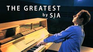 getlinkyoutube.com-Sia - The Greatest | Piano Cover - Peter Bence