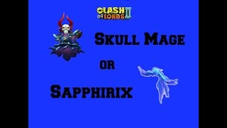 getlinkyoutube.com-Clash of Lords 2- Which Aid For Abyss? Skull Mage or Sapphirix?