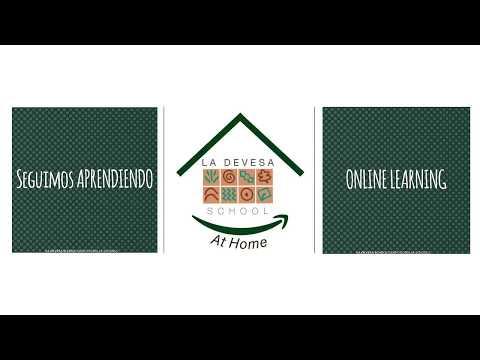 Online Learning. #LaDevesaSchoolAtHome