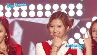 getlinkyoutube.com-【TVPP】 TWICE - 'Like OOH-AHH' Show Music core Stage Mix, 트와이스 - OOH-AHH하게 음중 교차편집