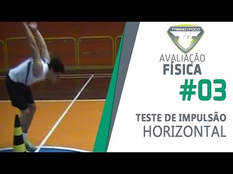 Teste de Impulso Horizontal - Potncia de Membros Inferiores