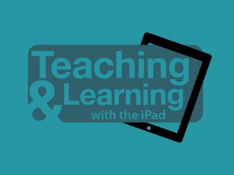 More Great Video Sessions from the Teaching and Learning with the iPad Conference