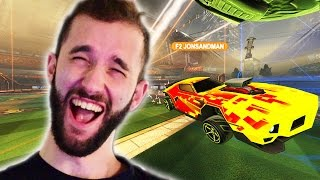 ROB TROLLS ME IN ROCKET LEAGUE RANKED...