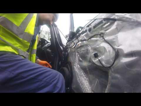 How to change door belt Astra поменять дверной ремень Astra