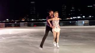 getlinkyoutube.com-Alexa and Chris Knierim 12.18.16 Brookfield Place