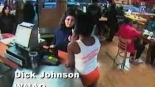 getlinkyoutube.com-Latino grandmother brawls with off duty cop at Hooters