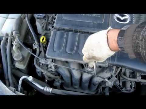 Spark plugs replacement Mazda 3 свечей зажигания на Mazda 3