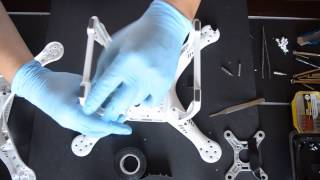 getlinkyoutube.com-DJI Phantom 3 Pro/Adv - Replacing / Changing / Fixing the Shell - Part 2/6