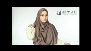 getlinkyoutube.com-Tutorial: Shawl Labuh ADWA by USWAH
