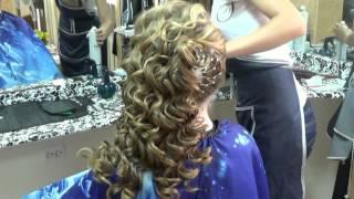 getlinkyoutube.com-прическа на длинные волосы