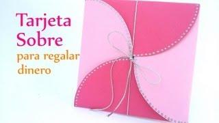 getlinkyoutube.com-Manualidades: TARJETA para regalar DINERO - Innova Manualidades