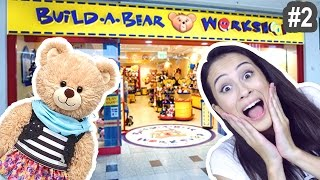 getlinkyoutube.com-ZELF KNUFFELS SAMENSTELLEN?! #2 - Build A Bear || Let's explore