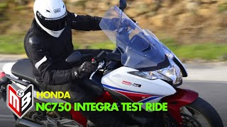 getlinkyoutube.com-HONDA NC750 INTEGRA  Test-ride by BLINK