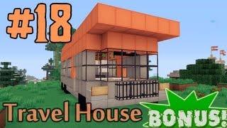 getlinkyoutube.com-Minecraft - как построить Дом на Колёсах? (Bonus #18)