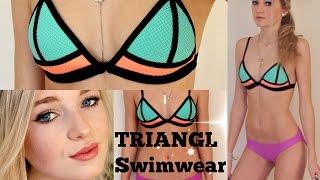 Triangl Swimwear Review / Bambi Bikini + Try On // Kallie Kaiser