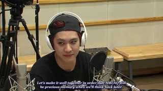 getlinkyoutube.com-150619 [ENG SUB] MBLAQ - Manager's Message @ Kiss The Radio #엠블랙 #거울