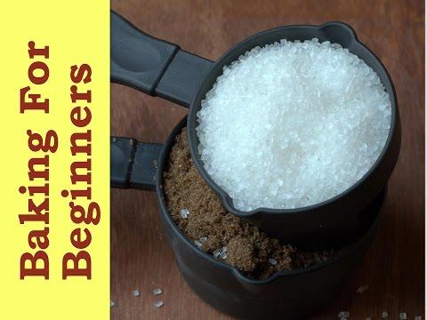 Different Types Of Sugar - Basic Baking Ingredients