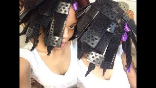 getlinkyoutube.com-CWK GIRLS| SSS PLATES- Heatless Stretch Plates on 4b/4c Hair