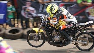 getlinkyoutube.com-drag bike final ninja kejurnas 2015