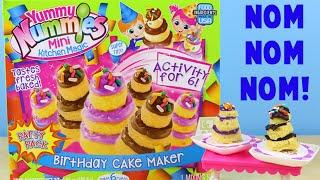 getlinkyoutube.com-Yummy Nummies Birthday Cake Maker - Make 6 Mini Birthday Cakes!