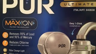 How To Install PUR Water Purification Filter