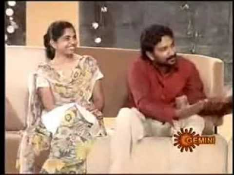 NTR Allari on Ramya show by SS Rajamouli and Rama Rajamouli