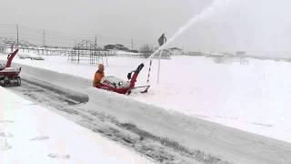 15馬力 改良仕様 除雪機