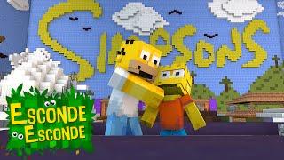 getlinkyoutube.com-Minecraft: CIDADE DOS SIMPSONS! (Esconde-Esconde)
