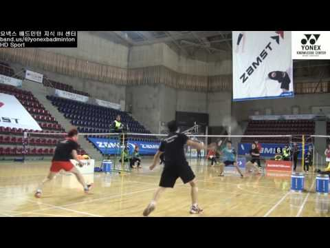 Badminton Training Lee Yong Dae Korea Olympic Rio 2016