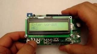 getlinkyoutube.com-Arduino Phi-1 shield Morse code encoder and decoder