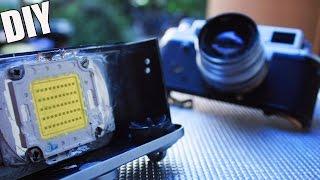 getlinkyoutube.com-Extreme LED Torch inside Old Camera ☄  500W POWER TUTORIAL