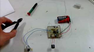 getlinkyoutube.com-DIY Pinpointer, with enclosure from other pinpointer part 1