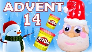 getlinkyoutube.com-Toy Advent Calendar Day 14 - - Shopkins LEGO Friends Play Doh Minions My Little Pony Disney Princess