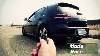 getlinkyoutube.com-Preview - Volkswagen Golf MK7 R Armytrix Performance Valvetronic Exhaust - This is next level